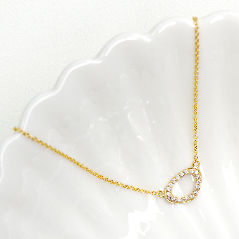 Horizontal 'Lilydust' Necklace