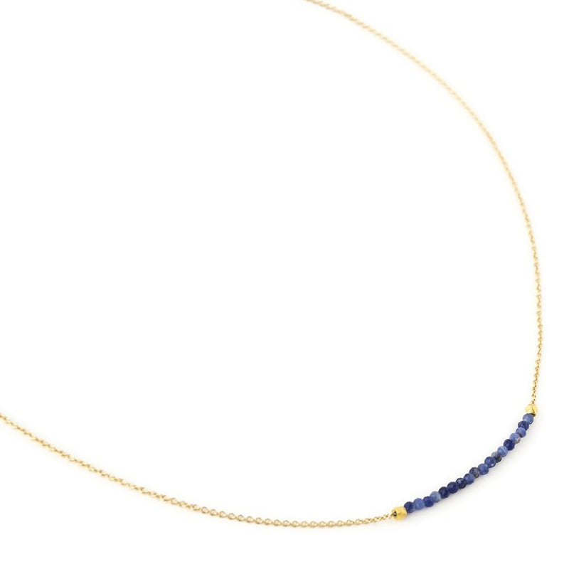 Centre Gemstone Wrap Necklace - Anne Sportun Fine Jewellery