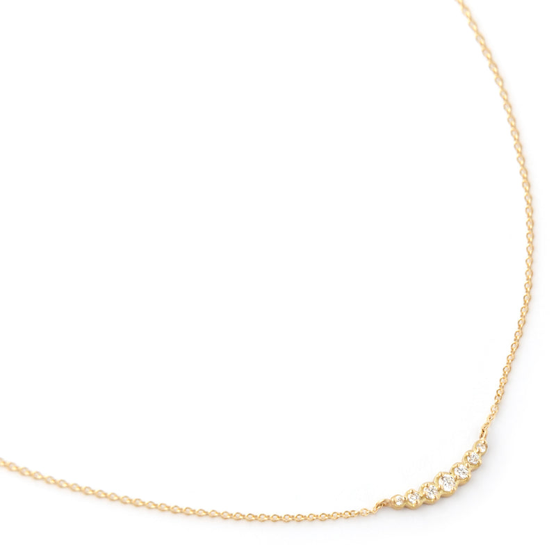Graduated Diamond Neckace - Anne Sportun Fine Jewellery