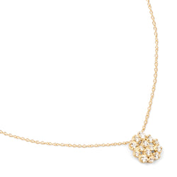 Medium Diamond Cluster Necklace - Anne Sportun Fine Jewellery