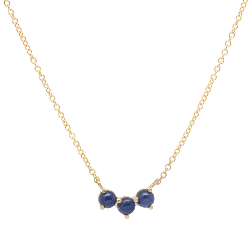 Trio Crescent Necklace - Anne Sportun Fine Jewellery Toronto, Canada, and U.S.