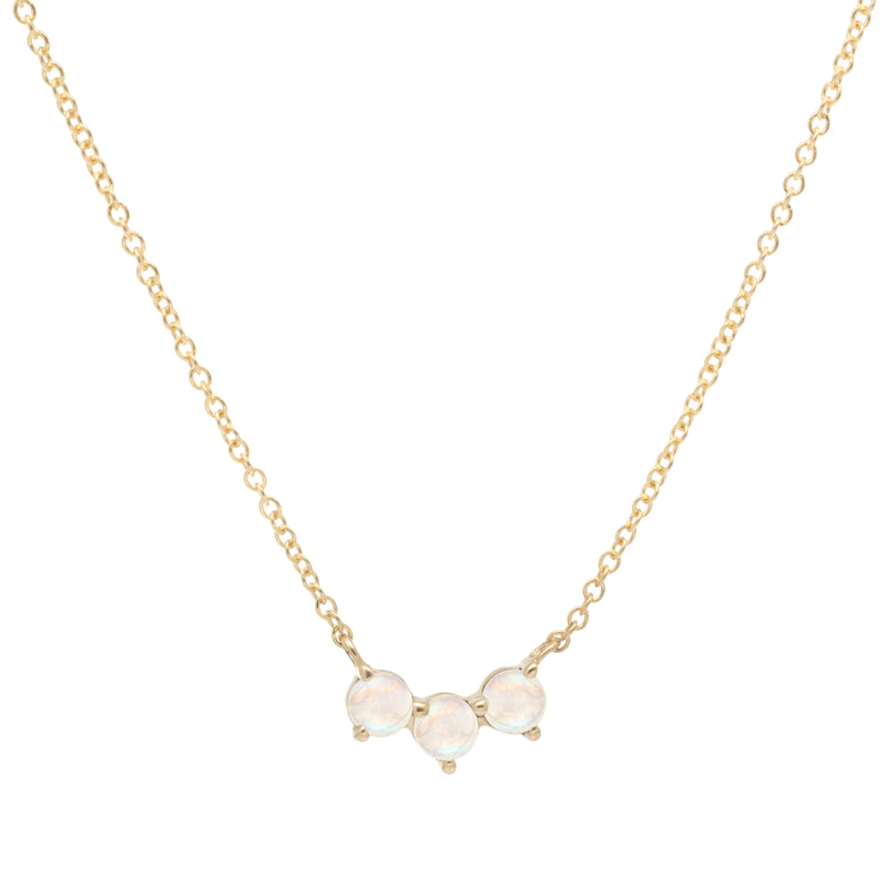 Trio Crescent Necklace - Anne Sportun Fine Jewellery