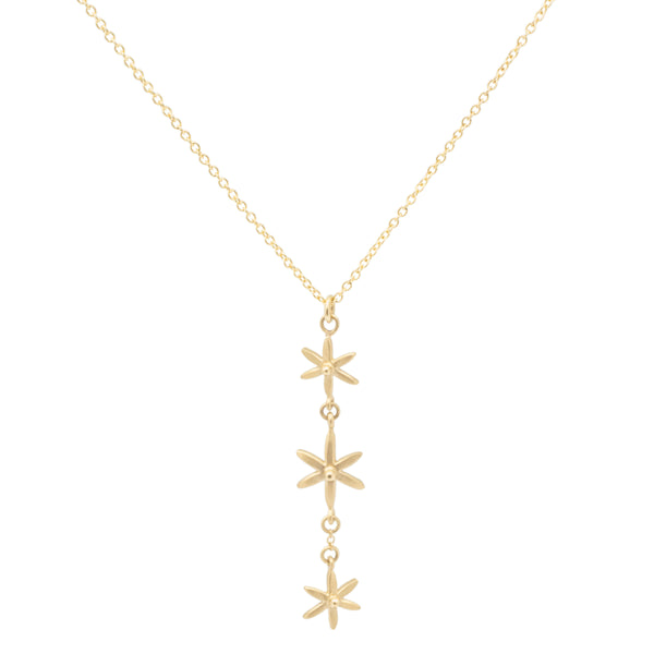3 Star Pendant Necklace - Anne Sportun Fine Jewellery