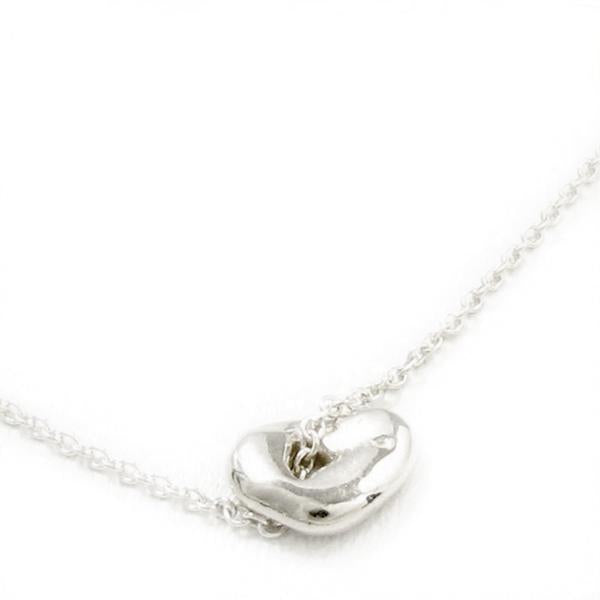 "Silver ""Pleasant"" Luck Necklace"