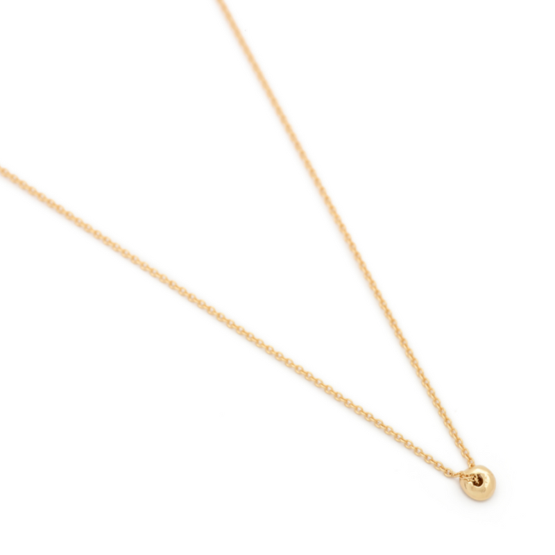 """Dot"" Luck Necklace - 18k Gold"