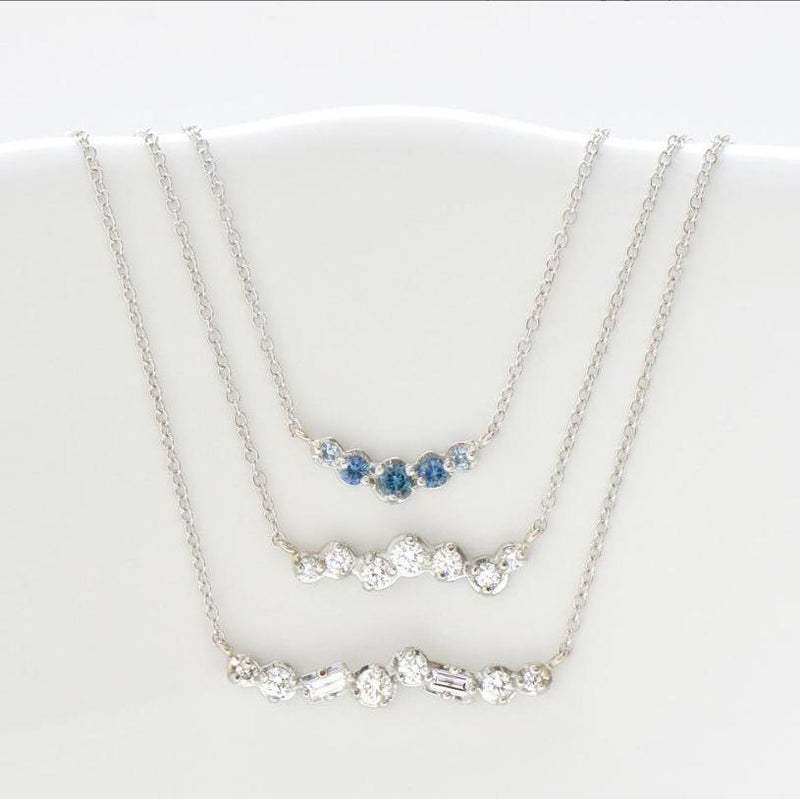 Cascade Diamond Necklace - Anne Sportun Fine Jewellery Toronto, Canada, and U.S.