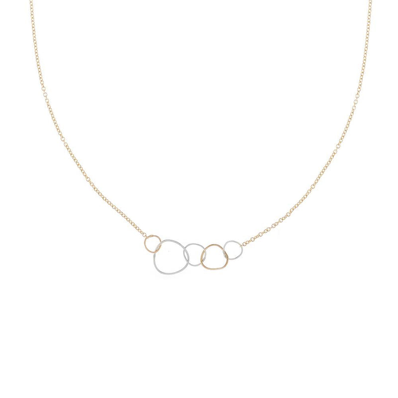 5-LOOP MINI PEBBLE NECKLACE - Anne Sportun Fine Jewellery