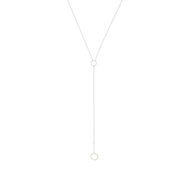 SQUARE LARIAT NECKLACE - Anne Sportun Fine Jewellery