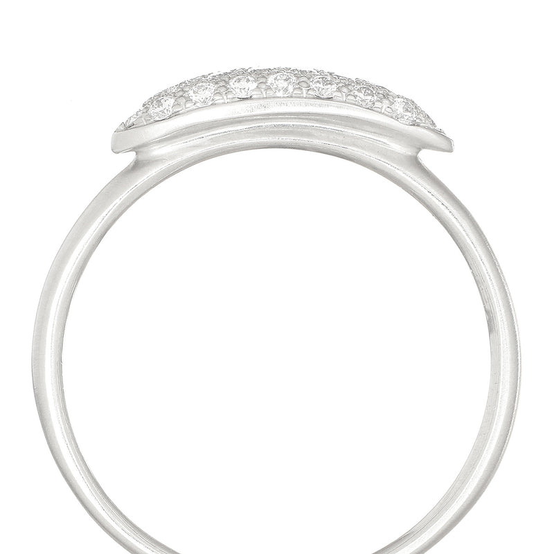 Elongated Rain Drop Ring - Anne Sportun Fine Jewellery