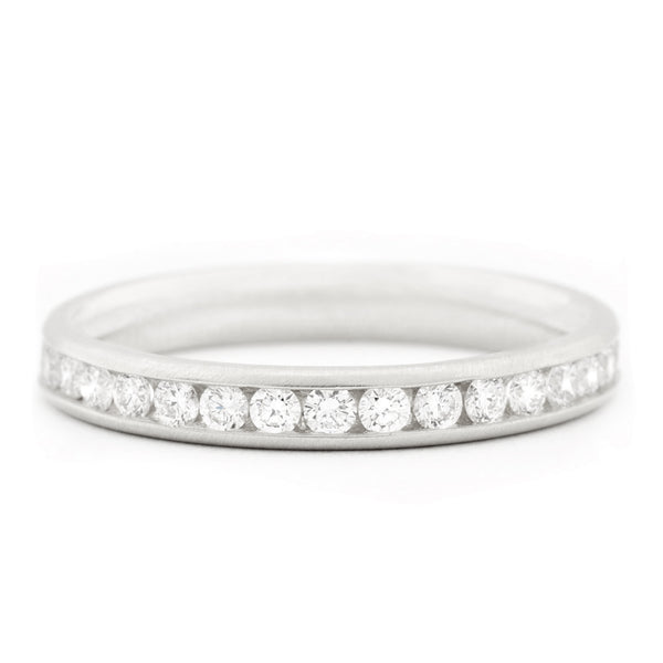 Classic Channel Set Diamond Band - Anne Sportun Fine Jewellery