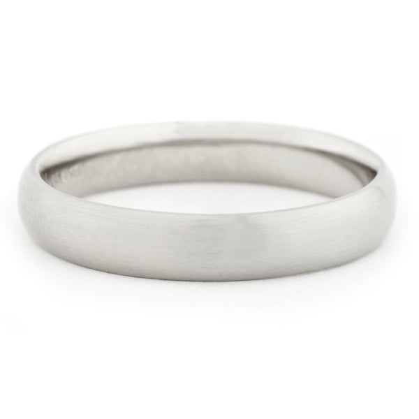 Men's Straight Edge Band - Anne Sportun Fine Jewellery