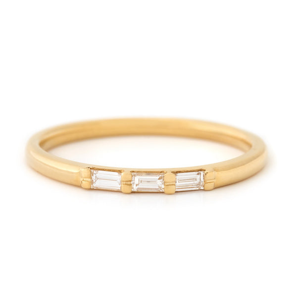 Lively Diamond Baguette Band - Anne Sportun Fine Jewellery Toronto, Canada, and U.S.