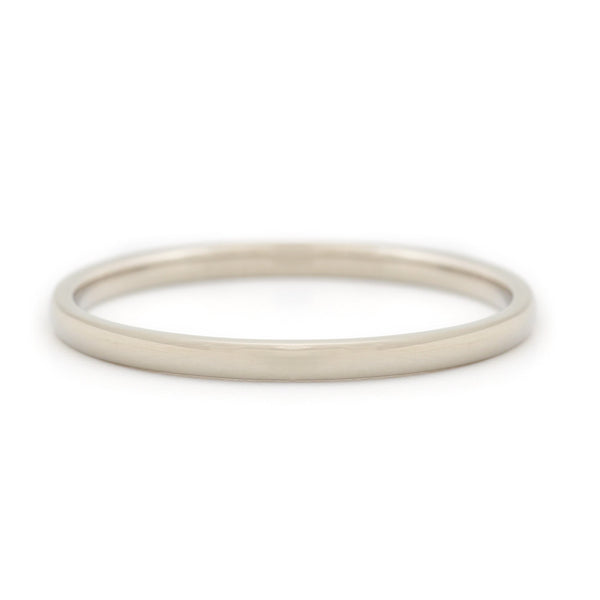 Simple High Polished Band - Anne Sportun Fine Jewellery