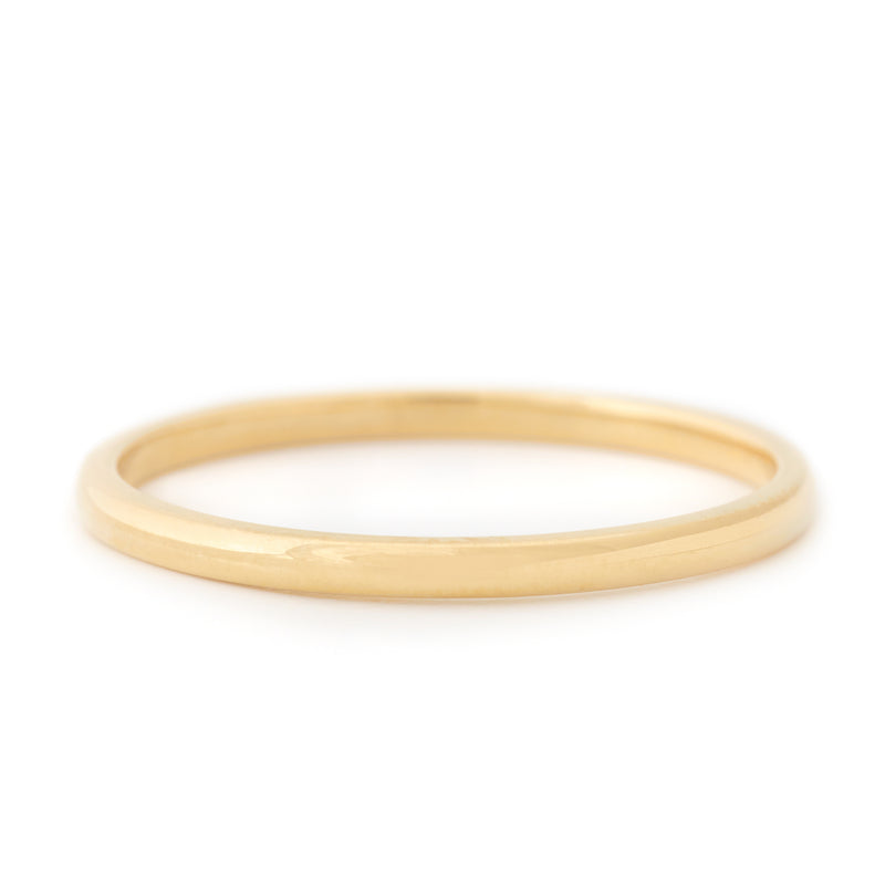 Simple High Polished Band - Anne Sportun Fine Jewellery Toronto, Canada, and U.S.