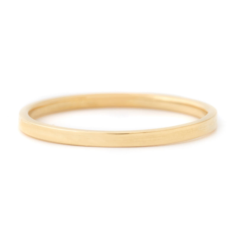 Minimalist High Polished Band - Anne Sportun Fine Jewellery