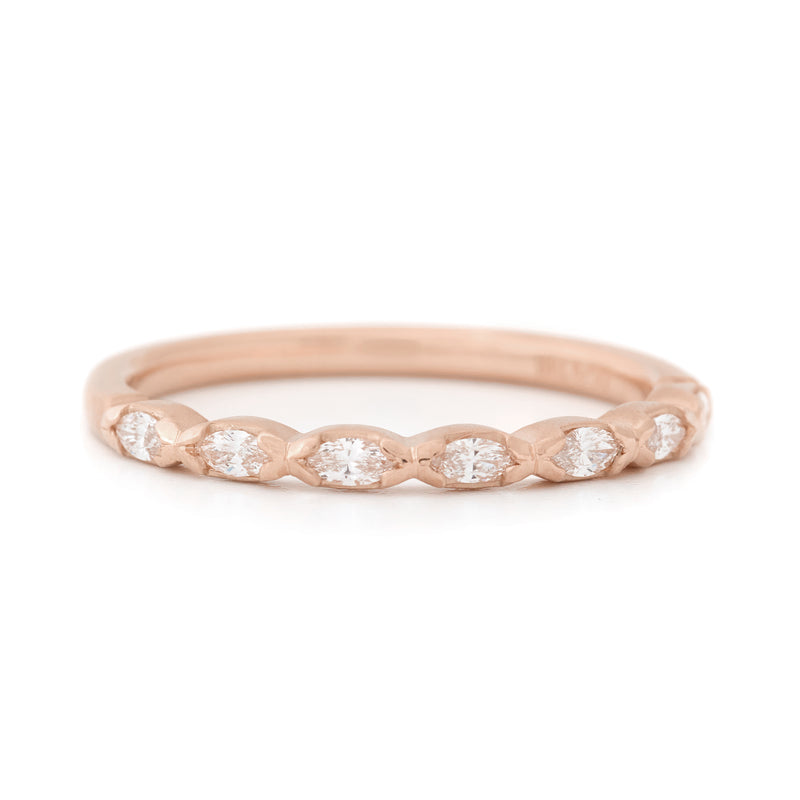 Seven Marquise Diamond Band - Anne Sportun Fine Jewellery