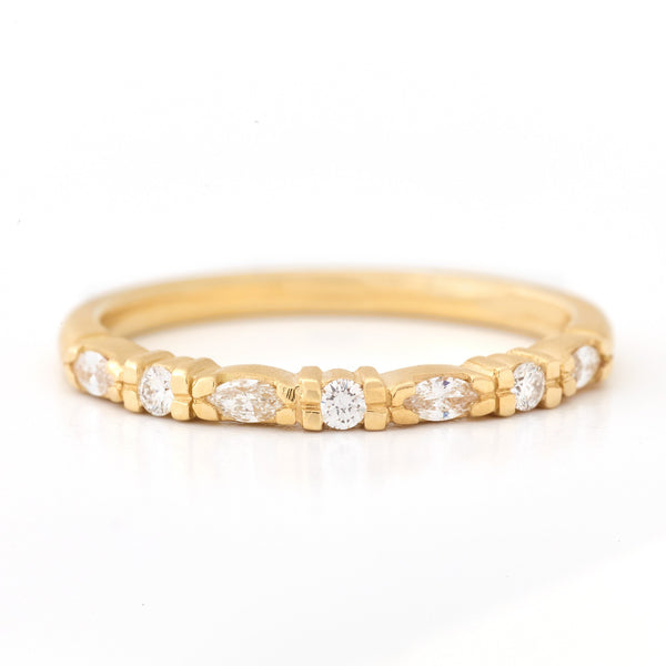 Eternal Marquise Diamond Band - Anne Sportun Fine Jewellery