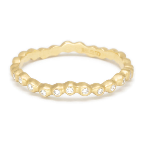 Wave Diamond Seed Band - Anne Sportun Fine Jewellery