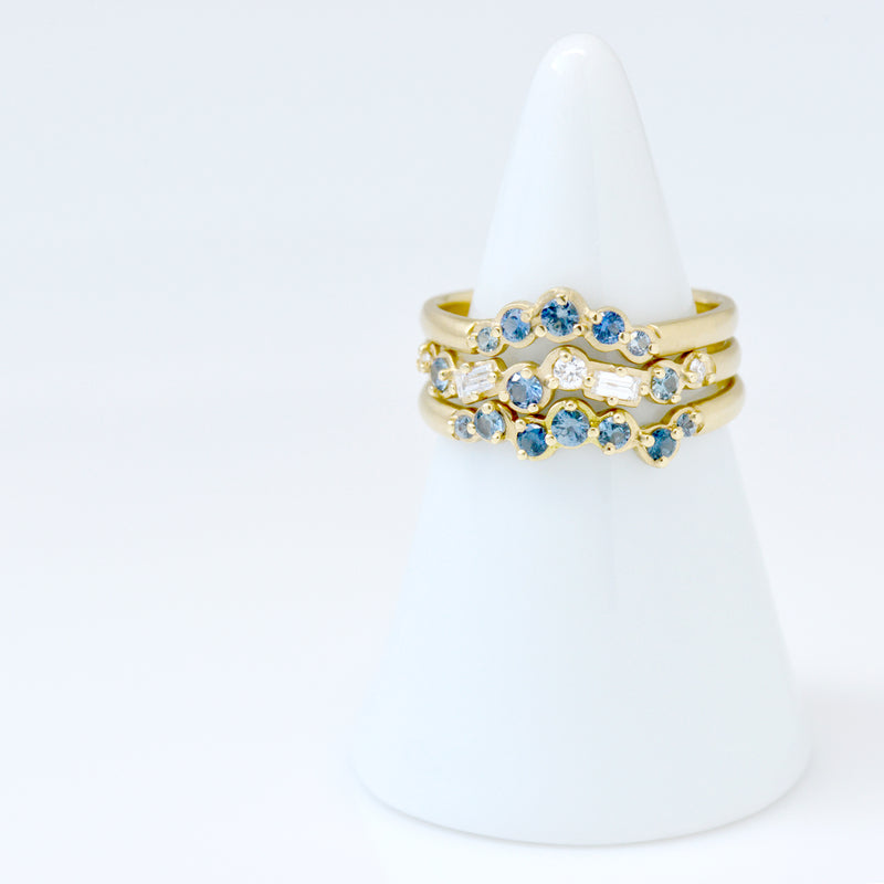 Blue Sapphire Festival Ring - Anne Sportun Fine Jewellery Toronto, Canada, and U.S.