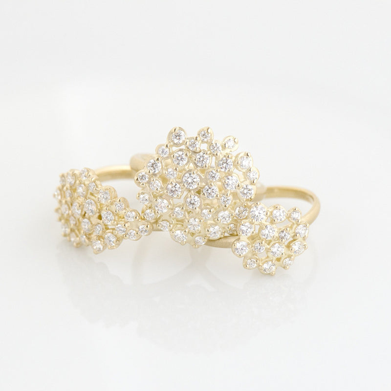 Medium Festival Cluster Ring - Anne Sportun Fine Jewellery