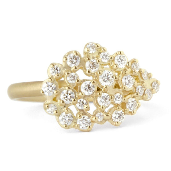 Pear Festival Cluster Ring - Anne Sportun Fine Jewellery Toronto, Canada, and U.S.