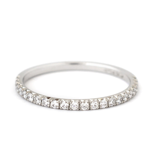 Fishtail Hearts + Arrows Diamond Band - Anne Sportun Fine Jewellery