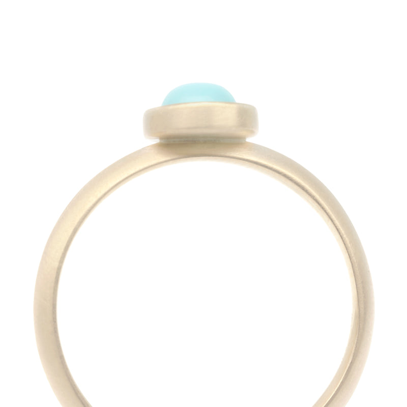 Knife Edge Gemstone Ring - Anne Sportun Fine Jewellery