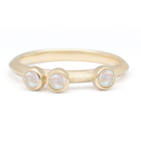 Scattered Gemstone Stacker Ring - Anne Sportun Fine Jewellery Toronto, Canada, and U.S.
