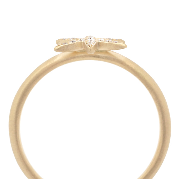 Diamond Pave Star Ring - Anne Sportun Fine Jewellery