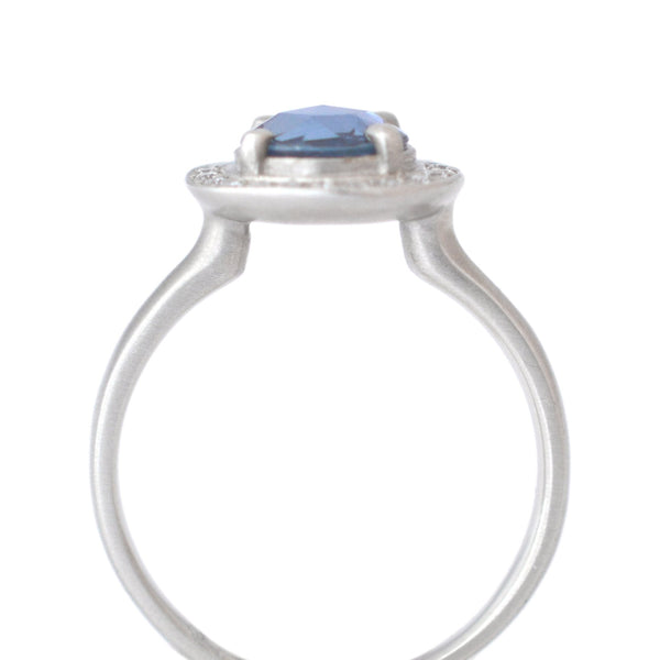 One of a Kind Blue Sapphire Ring - Anne Sportun Fine Jewellery Toronto, Canada, and U.S.