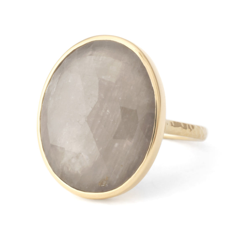One of a Kind Taupe Sapphire Ring - Anne Sportun Fine Jewellery