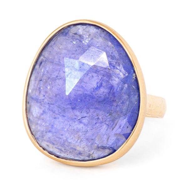 One of a Kind Purple Tanzanite Ring - Anne Sportun Fine Jewellery Toronto, Canada, and U.S.