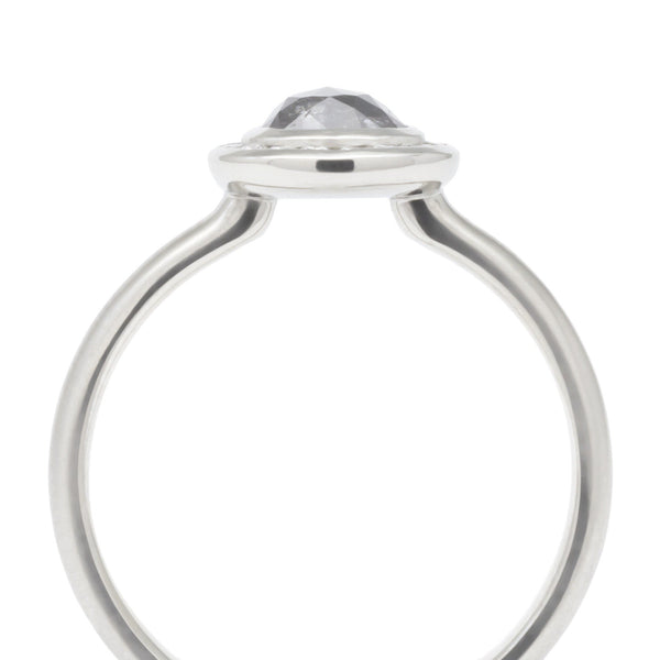 Black Pear Diamond Halo Ring - Anne Sportun Fine Jewellery