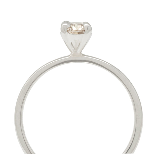 Oval Brilliant Champagne Diamond Ring