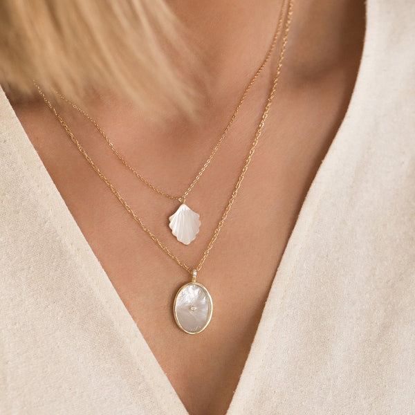 SIRENE NECKLACE | PEARL - Anne Sportun Fine Jewellery