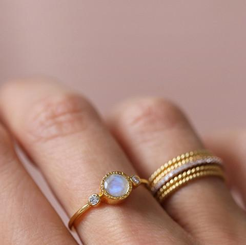 TODOS RING | MOONSTONE - 6