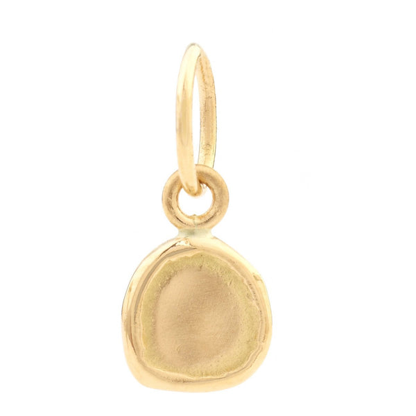 Plain Organic-Shaped Charm - Anne Sportun Fine Jewellery