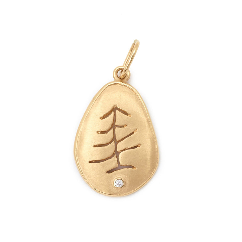 Botanical Tree Charm - Anne Sportun Fine Jewellery