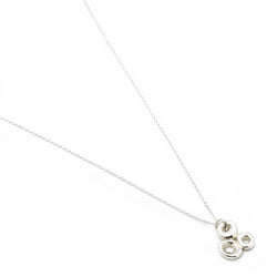 Small Triple Luck Necklace - Silver