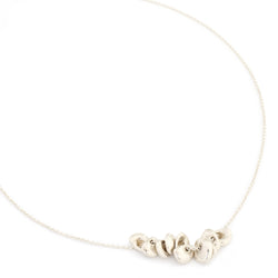 "10 Lucky ""Cup"" Necklace - Silver"