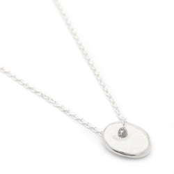 "Silver ""Sweet"" Luck Necklace"