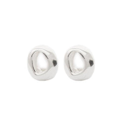 "Silver ""Georgia"" lucky Stud Earrings"