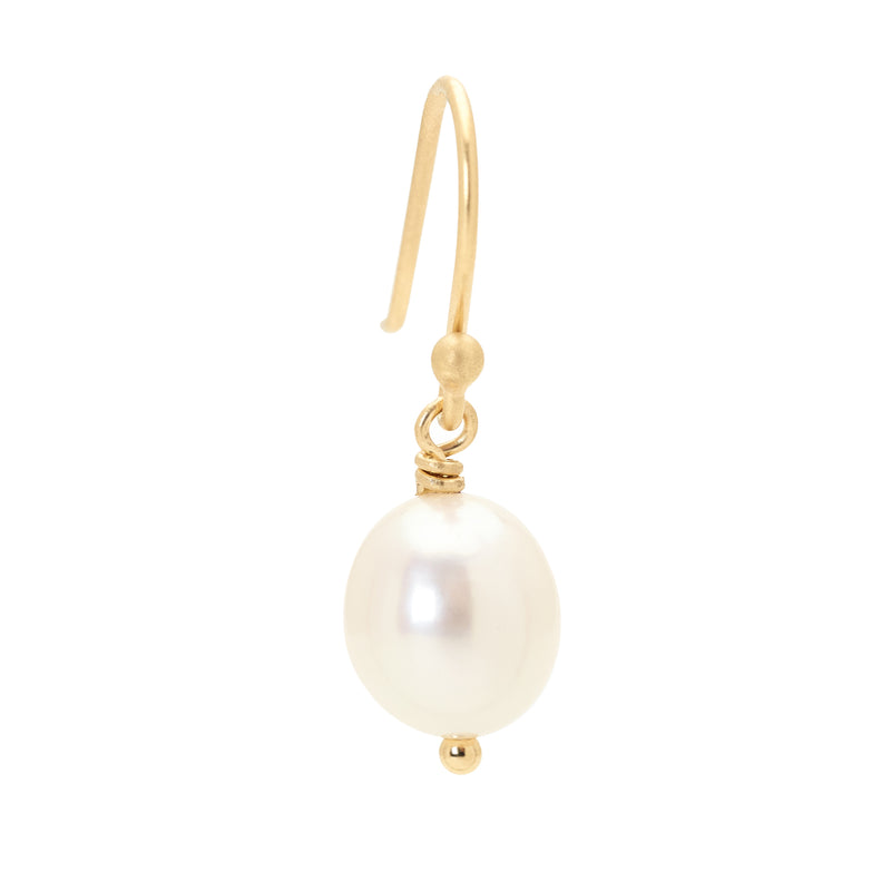 Classic Pearl Drop Earrings - Anne Sportun Fine Jewellery