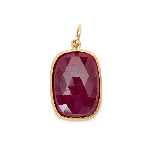 One of a Kind Ruby Charm