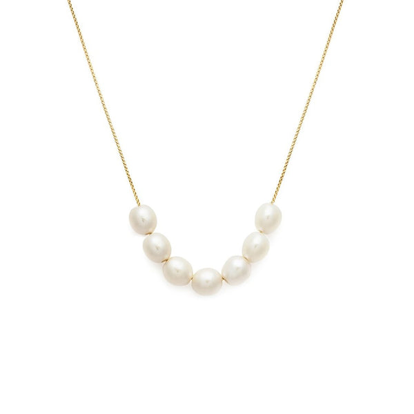 MINI MER NECKLACE | PEARL