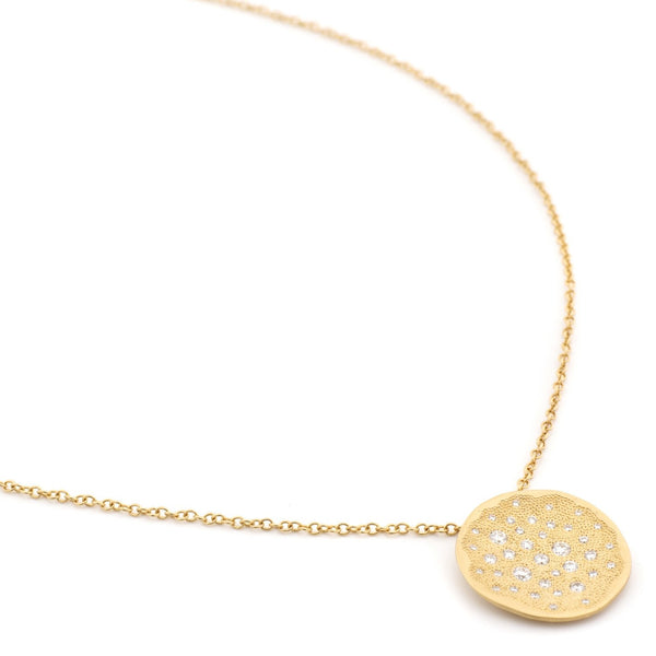 Large Stardust Pendant Necklace - Anne Sportun Fine Jewellery
