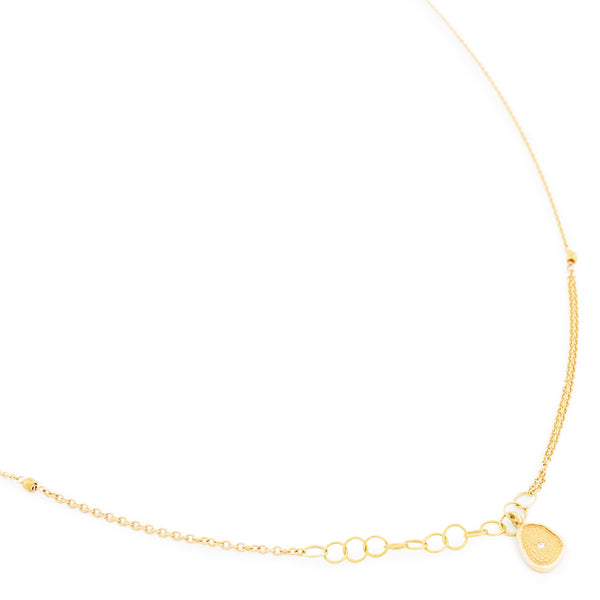 Small Gold 'Stardust' Necklace - Anne Sportun Fine Jewellery