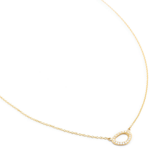 Horizontal 'Lilydust' Necklace - Anne Sportun Fine Jewellery