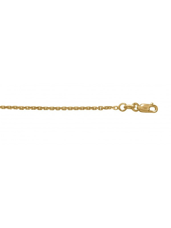 14K GOLD OVAL CABLE LINK