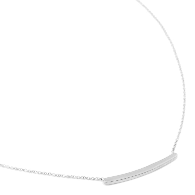 Simple Bar Necklace - Anne Sportun Fine Jewellery